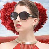 偏光太陽鏡女防紫外線潮優雅時尚百搭防曬圓臉墨鏡女眼鏡吾本良品