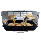 (快速)倉鼠籠 超大別墅金絲熊47基礎籠相親隔離60特大號鬆鼠的窩用品