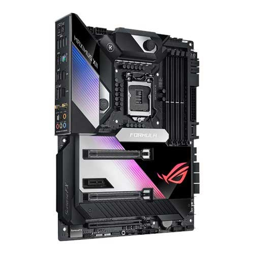 ASUS 華碩 ROG MAXIMUS XII FORMULA 支援LGA1200腳位 內建2吋OLED面板 RGB燈效 ATX 主機版