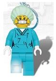 【 樂高積木 LEGO 】LEGO外科醫生鑰匙圈燈 / JOYBUS玩具百貨