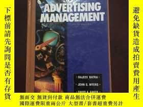 二手書博民逛書店Advertising罕見management fifth ed