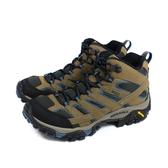MERRELL MOAB 2 MID GTX 運動鞋 健行鞋 卡其/藍 男鞋 黃金大底 ML034803 no113