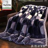 聖誕禮物毛毯被被子加厚冬季珊瑚絨毯子男單人宿舍學生女雙層冬用保暖法蘭絨 愛麗絲LX