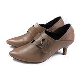 HUMAN PEACE 尖頭跟鞋 可可色 女鞋 073545VB no369