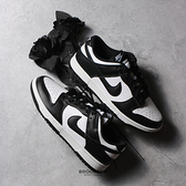 NIKE 休閒鞋 DUNK LOW WHITE BLACK 黑白 熊貓 男 (布魯克林) DD1391-100