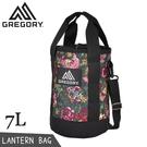 【GREGORY 美國 7L LANTERN BAG 圓筒型側背包《花園油彩》】130299/水桶包/隨身包/手提包