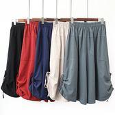 棉麻 舒適感綁帶寬褲 獨具衣格