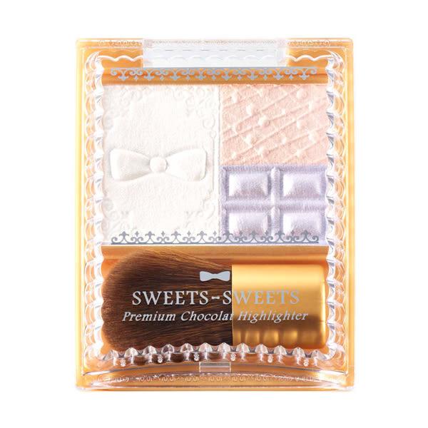 《日本製》SWEETS SWEETS 巧克力莊園晶緻打亮盒 5.3g  ◇iKIREI