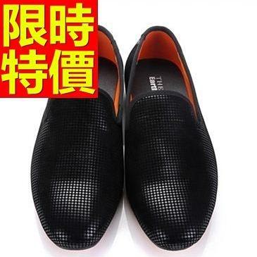 男皮鞋-帥氣大方休閒懶人男樂福鞋3色59p5[巴黎精品]