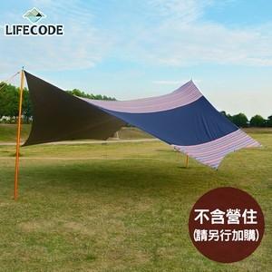【LIFECODE】光之盾高遮光抗UV蝶形天幕布600x580cm