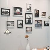 一件8折免運 現代簡約創意照片牆相框掛牆組合客廳臥室餐廳玄關牆面相片裝飾品xw