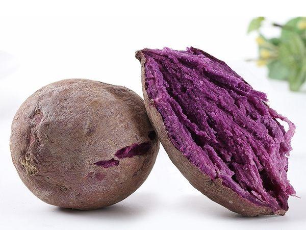 【果之蔬-全省免運】【生】台灣頂級紫地瓜地瓜品種( 無毒栽種) 【5斤±10%】