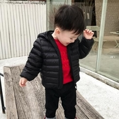 兒童外套 兒童羽絨棉衣棉服輕薄款寶寶棉襖男童女童中小童短款外套百搭【快速出貨八折搶購】