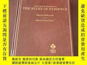 二手書博民逛書店Cases罕見and Materials on the Rule
