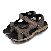 Merrell 涼拖鞋 Panther Sandal 灰 黑 大童鞋 中童鞋 女鞋 休閒鞋 魔鬼氈 涼鞋 【ACS】 MK261235