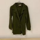 內刷毛修身顯瘦風衣外套大衣(S號/121-4988)