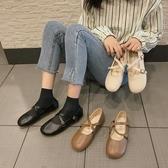 娃娃鞋 日系軟妹淺口單鞋女2020春季新款百搭娃娃鞋森系復古平底瑪麗珍鞋 小宅女