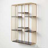 歐式簡約墻上置物架客廳鐵藝書架壁掛一字隔板臥室墻壁櫃墻面裝飾層架 rj3130『黑色妹妹』