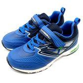 《7+1童鞋》日本瞬足 SYUNSOKU  ESJJ604  輕量  運動鞋 F226  藍色