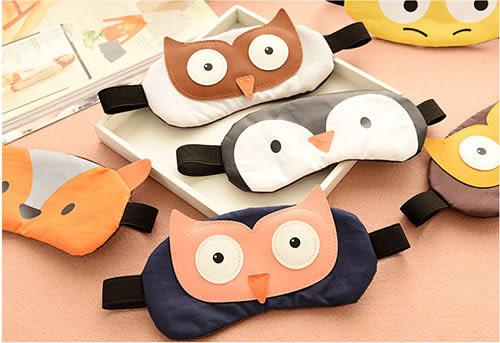 卡通可愛遮掩罩 睡眠眼罩 旅行眼罩 眼罩