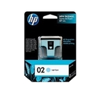 HP NO.02 02 淡藍色 原廠墨水匣 PS3110/3310/C5180/C6180/C6280/C7180/C7280