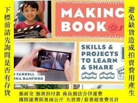 二手書博民逛書店The罕見Movie Making Book: Skills a