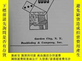 二手書博民逛書店《how罕見to figure the odds》Y456293 Oswald Jacoby Doubleda