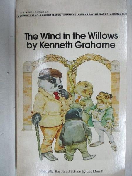 【書寶二手書T8/原文小說_AJZ】The Wind in the Willows by Kenneth Grahame