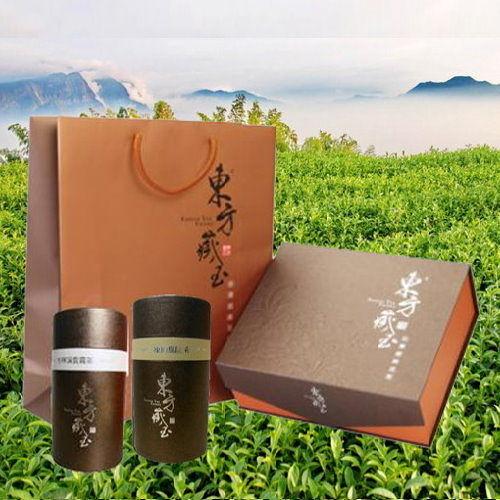東方藏玉 - 茶葉禮盒 (凍頂烏龍茶+杉林溪雲霧茶)