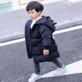 冬季新款兒童裝羽絨服保暖加厚中長款連帽大童男童羽絨服外套【韓衣舍】