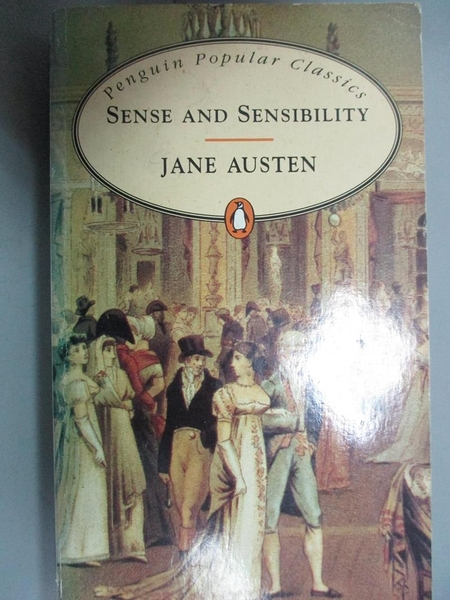 【書寶二手書T5/原文小說_CBQ】Sense and Sensibility_Austen, Jane