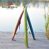 魚竿包 漁具包 比爾傲威防水漁具包1.25米EVA折疊便攜魚竿包釣魚桿包路亞包傘包