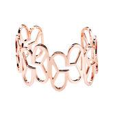 手鍊 手環 個性 時尚 百搭 經典 Bangle 銅鍍14K玫瑰金