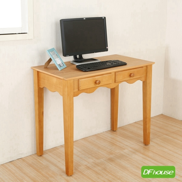 《DFhouse》貝茲-古典書桌 電腦桌 工作桌  辦公桌  臥室 書房 辦公室 閱讀空間 寢室 旅館 松木 實木