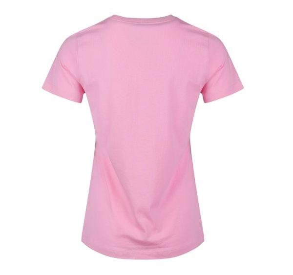 NIKE SPORTSWEAR ESSENTIAL TEE 粉 綠logo 短T 基本款 女 (布魯克林) 2019/4月 BV6170-629