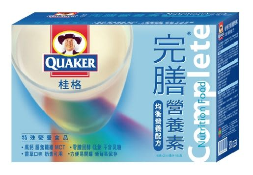 桂格完膳營養素-香草禮盒 8罐/盒  *維康