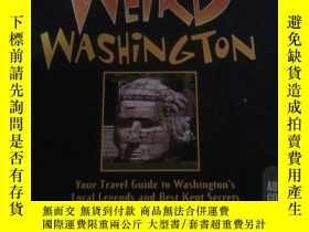 二手書博民逛書店WEiRD罕見WASHiNGTONY197425