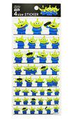 【卡漫城】 三眼怪 貼紙 日本製 ㊣版 裝飾貼 日版 4種尺寸 Alieen 外星人 玩具總動員 Toy Story