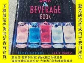 二手書博民逛書店THE罕見BAR and BEVERAGE BOOK:吧檯飲料簿