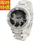 鑽錶-經典款自信新品女腕錶2色5j62【巴黎精品】