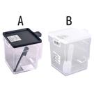 日本製【Inomata】方型調味盒400ml*1入(黑&白)