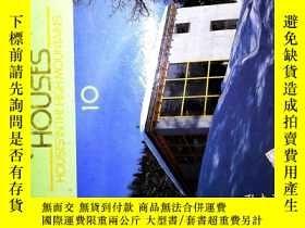 二手書博民逛書店ARCHITECTURAL罕見HOUSES 10Y269382