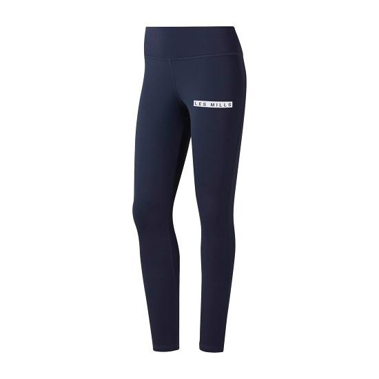 REEBOK LM Lux 7/8 Tight 2.0 女裝 緊身褲 慢跑 訓練 透氣 柔軟 藍 【運動世界】 ED0597