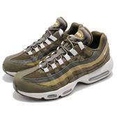 Nike Air Max 95 Essential 綠 灰 反光 男鞋 復古 慢跑鞋 運動鞋【PUMP306】 749766-303