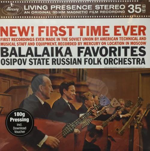 【停看聽音響唱片】【黑膠LP】OSIPOV STATE RUSSIAN FOLK ORCHESTRA:Tchaikovsky,Rimsky-Korsakov,Mossolov,etc