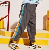 男童防蚊褲純棉薄款2020夏裝新款兒童冰絲運動長褲子棉麻潮中大童【快速出貨】