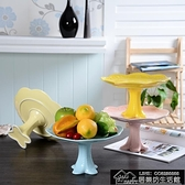 快速出貨 創意家用陶瓷水果盤干果糖果籃客廳歐式瓜子點心零食擺台【2021新年鉅惠】