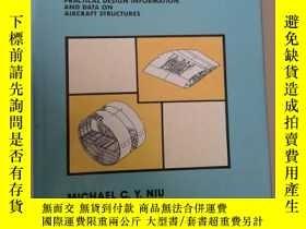 二手書博民逛書店AIRFRAME罕見STRUCTURAL DESIGN【633】