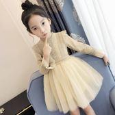 【618好康又一發】公主裙蓬蓬紗裙中大童韓版童裝女連身裙