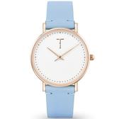【台南 時代鐘錶 TYLOR】自由探索精神 風格多變極簡設計腕錶 TLAF004 皮帶 33mm